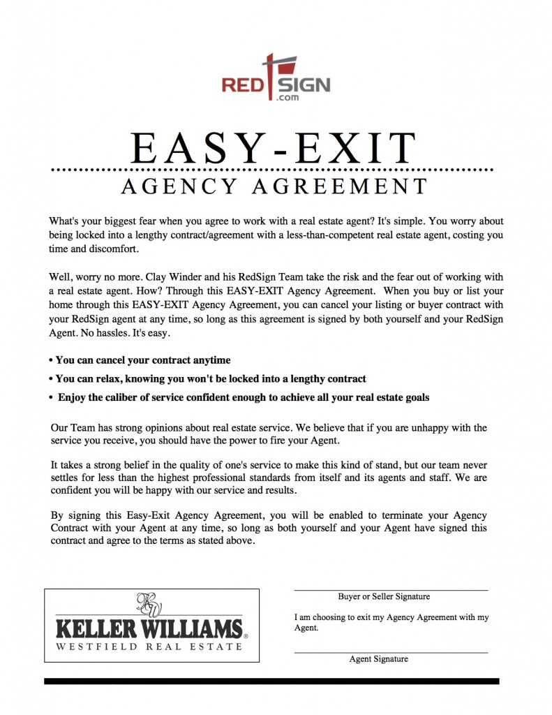Red Sign Team's Easy Exit Agreement
